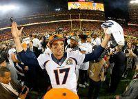 Чемпионы Национальной футбольной лиги США команда Denver Broncos