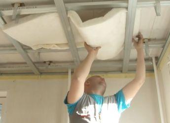 Звукоизоляция потолка в квартире своими руками7